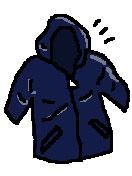 極地探検用のジャケット